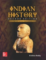 Indian History : For Civil Services Examinations Second Edition(English, Paperback, Krishna Reddy)