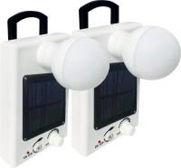 View Eye Bhaskar Model 04 Solar Bulb (Set of 2) Rechargeable Solar Lights(White) Home Appliances Price Online(Eye Bhaskar)