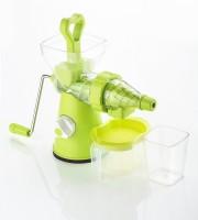 Mantavya Fruit And Vegetable Mixer Juicer With Steel Handle 0 Juicer(Green, 1 Jar)