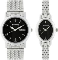 Sonata 11418100SM01  Analog Watch For Couple
