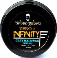 UrbanGabru UrbanGabru Hair Wax : Zero to Infinity - Strong Hold | Volume | Hair Style 100 GM Wax(100 g)