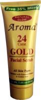 Gold 24K Natural Glow Aroma Facial  Scrub(212 g) - Price 148 34 % Off