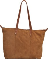 Miles London Women Brown Genuine Leather Tote