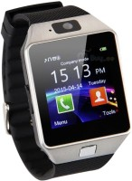 888 Silver Bluetooth Smart Notification Smartwatch Memory Slot,sim Slot Smartwatch(Black Strap Regular) Flipkart Rs. 943.00