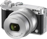 Nikon Nikon 1 J5 Silver With 10-30 mm Lens Mirrorless Camera Body With 10-30 mm Lens(Silver)