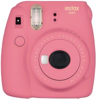 Fujifilm Mini 9 Flamingo Pink Instant Camera(Pink)