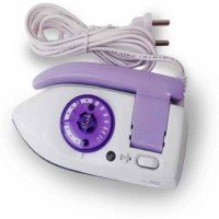 View RK BEAUTY travel iron Dry Iron(White & Purple) Home Appliances Price Online(RK BEAUTY)
