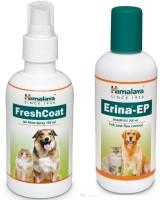 Himalaya Flea and Tick, Anti-dandruff Himalaya Fresh Coat Spary with Erina EP Shampoo For Dog and Cats By Pawsitively Care Dog Shampoo(200 ml)