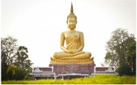 God Buddha Poster for room Paper Print(12 inch X 18 inch, Rolled)