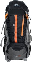 Mount Track Discover Rucksack, Hiking Backpack Rucksack  - 75 L(Black, Grey)