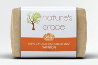 Natures Grace Handmade Saffron Soap(100 g)