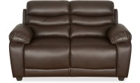 View @home by Nilkamal Leather 2 Seater(Finish Color - Brown) Furniture