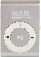 MAK MP-901 MP3 Player(Silver, 0 Display)