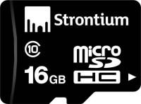 Strontium 10 16 GB SD Card Class 10 20 MB/s  Memory Card