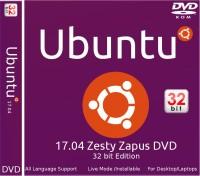 ubuntu 17.04 Zesty Zapus DVD 32 bit