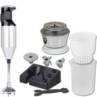 XCCESS Xccess_Turbo_Silver 250 W Hand Blender(Silver, Black)