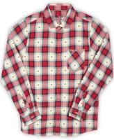 Allen Solly Junior Boys Checkered Casual Spread Shirt