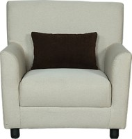 View Cloud9 Legend Fabric 1 Seater(Finish Color - English Brown) Furniture (Cloud9)