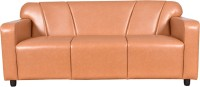 View Cloud9 Franklin Leather 3 Seater(Finish Color - Leather Brown) Furniture (Cloud9)