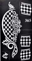 ARR Henna Stencils STICKER(HENNA DESIGN) - Price 120 33 % Off