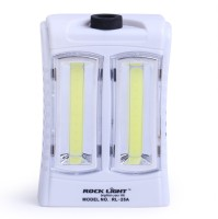 View Rocklight Rechargable Led RL25A Emergency Lights(White) Home Appliances Price Online(Rocklight)