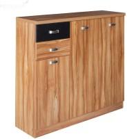 RoyalOak Engineered Wood Shoe Rack(Brown, 8 Shelves)