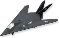Maisto Tail Winds F-117 Nighthawk (Without Stand) Color-Black(Black)