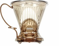 Koinonia Coffee Roasters T/C-70888 CCD#4 2 Cups Coffee Maker(Transparent brown)