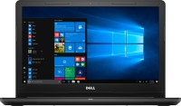 Dell Inspiron APU Dual Core E2 - (4 GB/500 GB HDD/Linux) 3565 Laptop(15.6 inch, Black, 2.27 kg)