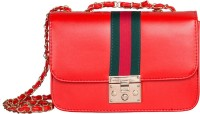 peaubella Shoulder Bag(Red)