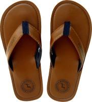 Levitate Boys & Girls Slip On Slipper Flip Flop(Brown)