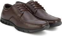 Bata REMO Lace Up Shoes For Men(Brown)