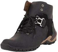 Shoe Icon Boots For Men(Black)