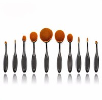 anastasia 0val brush set of 10(Pack of 10) - Price 799 83 % Off