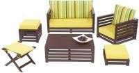 View ARRA Fabric 6 Seater Standard(Finish Color - Walnut) Furniture (ARRA)