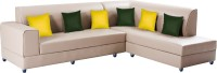 View Bharat Lifestyle Aston Leatherette 6 Seater(Finish Color - Cream) Furniture (Bharat Lifestyle)
