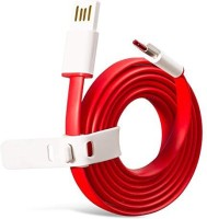 JBD Type C Charge Lightning Data Cable Sam S8 , S8 plus , A9 , A9 pro , one + five Power Sharing Cable(Red)