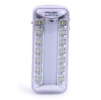 View Rocklight Rechargable Led RL23A Emergency Lights(White) Home Appliances Price Online(Rocklight)