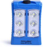 View Rocklight Rechargable Led RL26A Emergency Lights(Blue) Home Appliances Price Online(Rocklight)