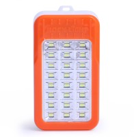 View Rocklight Rechargable with Powerbank Emergency Lights(Orange) Home Appliances Price Online(Rocklight)