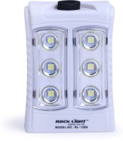 View Rocklight Solar Rechargable Led RL26A Emergency Lights(White) Home Appliances Price Online(Rocklight)