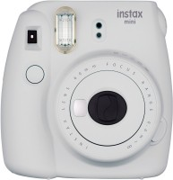 Fujifilm Mini 9 Smokey White Instant Camera(White)