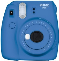 Fujifilm Mini 9 Cobalt Blue Instant Camera(Blue)