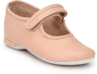 Hirel's Boys & Girls Velcro Moccasins(Pink)