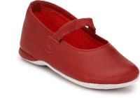 Hirel's Boys & Girls Strap Moccasins(Red)