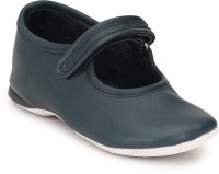 Hirel's Boys & Girls Velcro Moccasins(Blue)