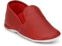 Hirel's Boys & Girls Slip on Sneakers(Red)