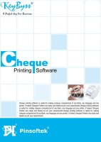 Pinsoftek KeyByss Cheque Printing Software - 10 Users (CD) [CD-ROM] …