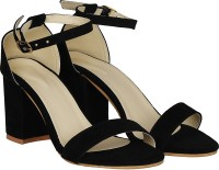 Misto Women Black Heels