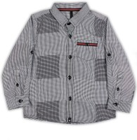 United Colors of Benetton Boys Checkered Casual Shirt